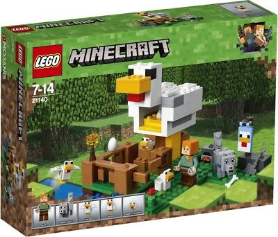 NEW LEGO Minecraft The Chicken Coop 21140 from Mr Toys