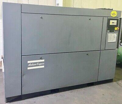 Atlas Copco Ga55 75hp Air Compressor