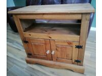 TV stand, table, cupboard