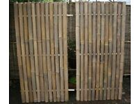 Garden Bamboo Fences 70% off