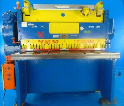 316 X 5ft 7 Gauge Metal Shear 316 Columbia 0604l