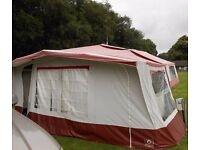 CONWAY CRUSIER TRAILER TENT + AWNING , 6 BERTH, 1990