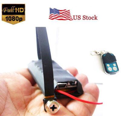 Camera Control - 1080P Full HD Screw hidden spy camera DVR mini video recorder Remote control