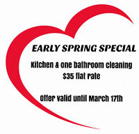 MAID WITH HEART CLEANING SPECIAL