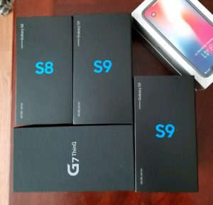Sealed Samsung S9($700), LG-G7($600) International Buyers Only
