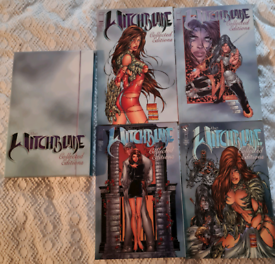 """Witchblade """"Collected Edition"""" comic sets"""
