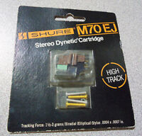 NOS SHURE HIGH TRACK MM VINTAGE PHONO CARTRIGES (NEW)
