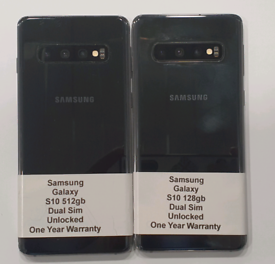 Like New Used Samsung Galaxy S10 Duos (Dual Sim) 128gb-512gb Unlocked