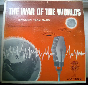 Vintage ORIGINAL LP Record H.G. Wells ‎– War Of The Worlds