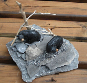 Hand Crafted Bears 3-D Table Sculpture Kingston Kingston Area image 8