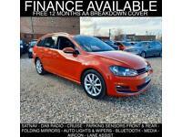 2014 Volkswagen Golf 2.0 TDI BlueMotion Tech GT DSG (s/s) 5dr Auto Estate Diesel