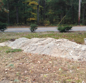 WANTED CRUSHED STONE OR GRAVEL