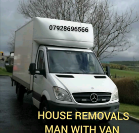 LUTON VAN WITH TAIL LIFT