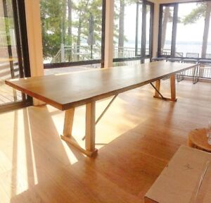 Live Edge Dining Tables Walnut Maple Sustainable Local Wood
