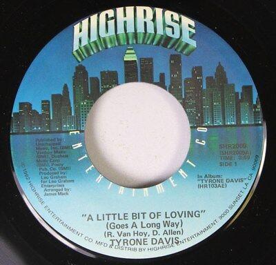 Soul  45 Tyrone Davis - A Little Bit Of Loving (Goes A Long Way) / Where Did