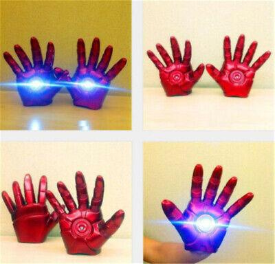 schuhe LED Links / Rechtshand 1: 1 Handschuhe für Erwachsene (Iron Man-handschuhe)