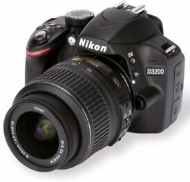 Perfect condition like new Nikon D3200