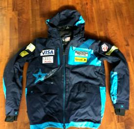 NEW very rare official USA spyder ski national team jacket size M