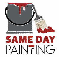 Same Day Painting 10% Off! Cost-Quality-Communication