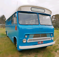 Bedford bus motorhome tiny house airbnb