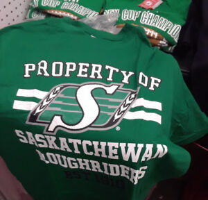 Sask Roughriders T-shirts