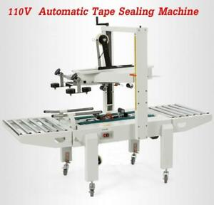 110V Automatic Carton Box Case Sealer Tape Sealing Machine(020042)