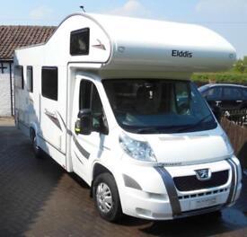 Elddis Autoquest 180 6 berth rear lounge coachbuilt motorhome for sale ref 15174