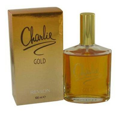 Charlie Gold By Revlon Perfume 3 4 Oz 3 3 Edt New In Box