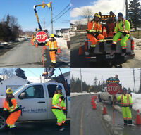 Now Hiring Traffic Control Persons