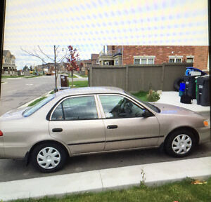 # # # # 2001 TOYOTA COROLLA LE WITH EMISSION TEST # # # #