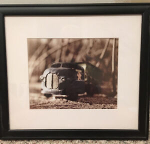 Prof Framed Art - Young Boys Room - Trains, Planes, Cars, Trucks
