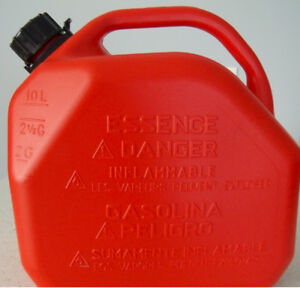 2 Gas Cans (10 Liters each)