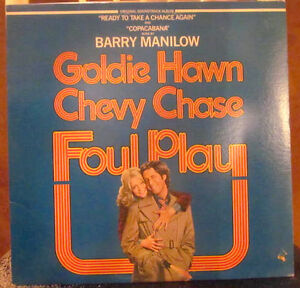 FOUL PLAY OST Vinyl Album - Chevy Chase / Goldie Hawn 1978