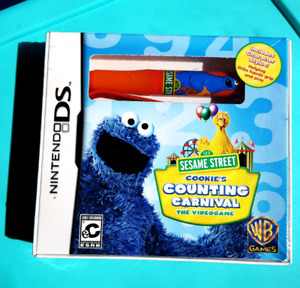 NEW SEALED sesame street cookie's counting carnival