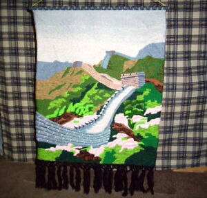 Great Wall of China Tapestry One of the Wonders of the World