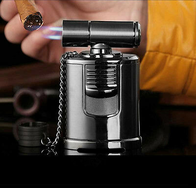 Best Cigar Lighter - High End Table Top 4 Jet Adjustable Torch
