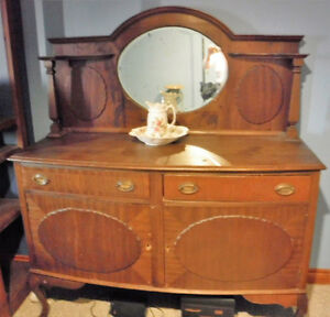 Antique China Hutch Windsor Region Ontario image 1