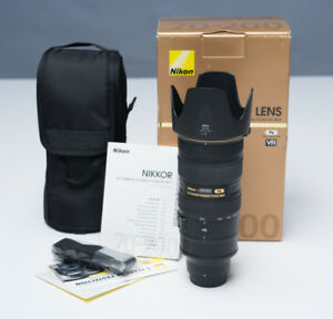 NIKON 70-200mm f2.8 VR II in MINT CONDITION