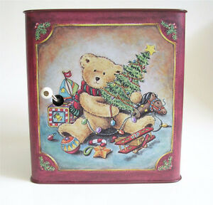 Vintage Russ Christmas Teddy Bear Jack in the Box Kitchener / Waterloo Kitchener Area image 4