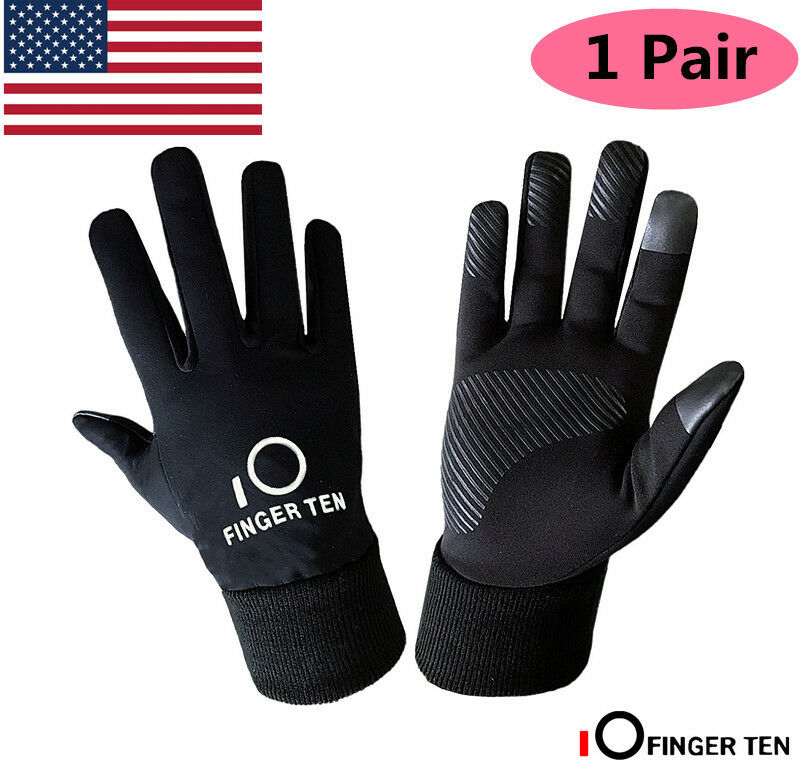 Winter Gloves Youth Boys Kids Waterproof Fleece Warm 3M Cold Weather Outdoor