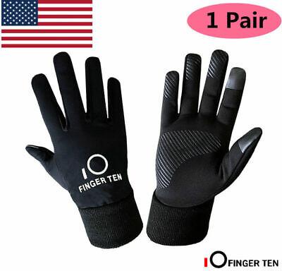 Kids Winter Gloves Waterproof Boys Girls Touch Screen Sport Windproof Glove -