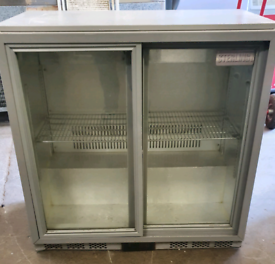 Sterling commercial undercounter drinks chiller sliding doors