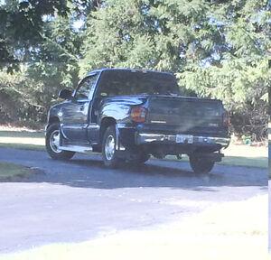 2001 GMC Sierra 1500 SL Stepside Shortbox Pickup Truck Reg Cab