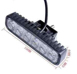 LED 1800 LM Mini 6 Inch 18W 6 x 3W Car CREE LED Light Bar as Wor Kitchener / Waterloo Kitchener Area image 2