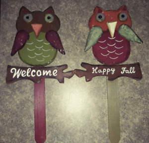 Owl fall signs