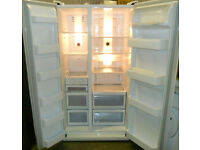 White, A Class SAMSUNG American Side by Side Frost Free Fridge Freezer for Sale