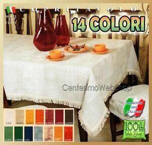 Copritavolo 180x180 jacquard 13 colori quadrato 180 180 - Tovaglia copritavolo ...
