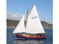 Clovelly Picarooner sailing dinghy
