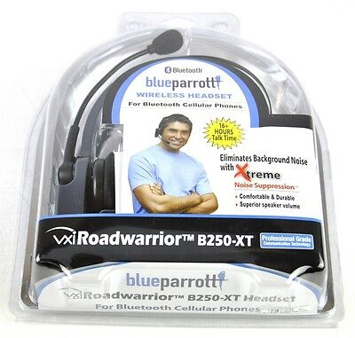 Blue Parrott B250-XT Trucker Bluetooth Headset VXI BlueParrott B250XT Parrot NEW on Rummage