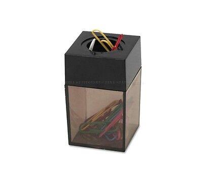 Paper Clip Dispenser Magnetic Holder 4.2cm X 4.2 X 6.9 For Office School Home Bk
